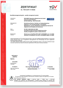 Certifikát BICOM