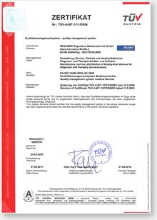 Certifikát BICOM - Quality Management